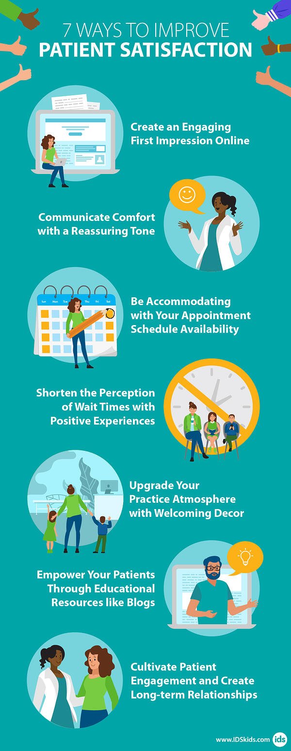 7 Ways to Improve Patient Experience - Infographic