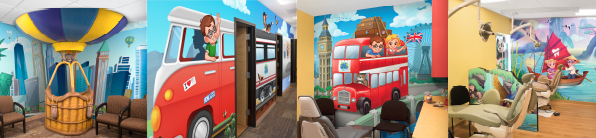 travel office decor