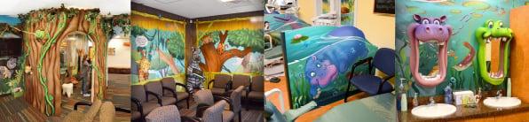 jungle office decor