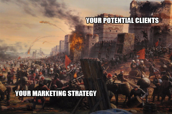 marketing strategy meme